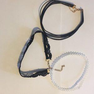 Jewelry - Choker set of 3